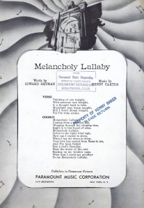 gm melancholy lullaby