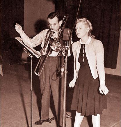 Glenn & Marion rehearse
