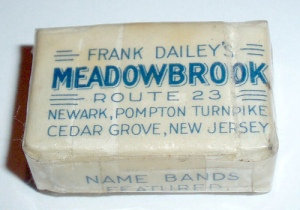 a souvenir bar of Meadowbrook soap!