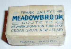 a souvenir bar of Meadowbrook soap!