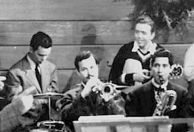 Moe Purtill, Johnny Best, Jack Lathrop, Ernie Caceres