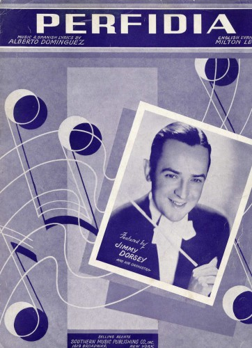 1941 edition of PERFIDIA with BMI lyric.