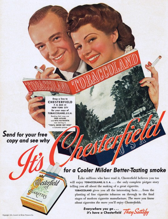 gm chesterfiled astaire