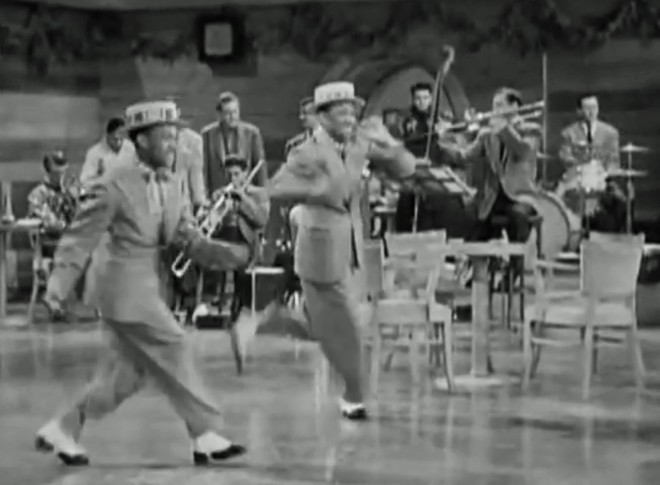 The Nicholas Brothers with the Miller band.