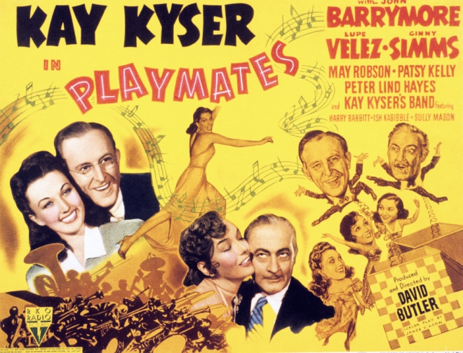 gm playmates-john-barrymore-kay-kyser-everett