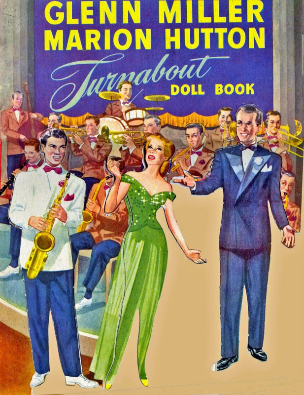 Tex, Marion & Glenn got the paper doll treatment in 1942, but where's poor Ray?