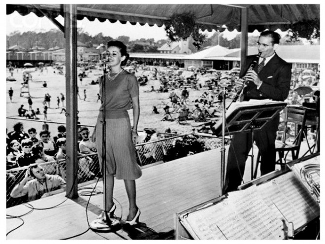 Martha Tilton with Benny Goodman, 1938